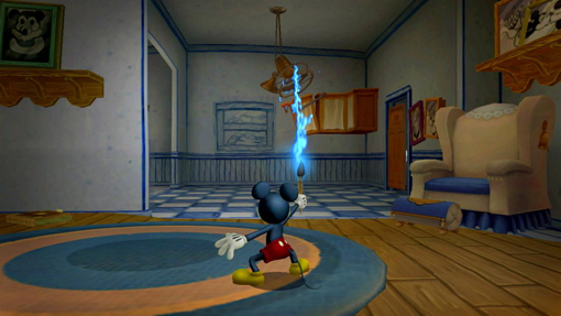 Disney Epic Mickey on Xbox 360 and PS3
