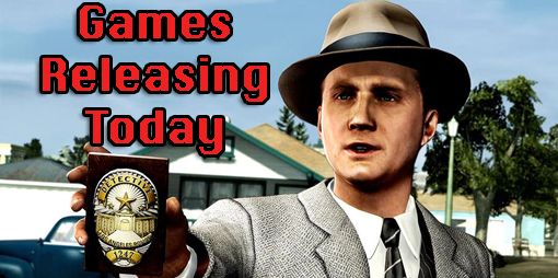 New Games Out Today: LA Noire, The Witcher 2, ExerBeat, Cake Mania 4