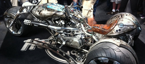 American Chopper: Gears of War motorcycle bike