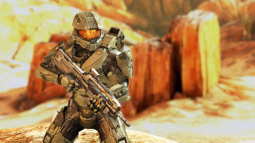 Master Chief has new armor in Halo 4