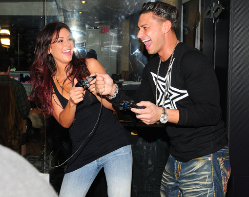JWoww and Pauly D play LBP2
