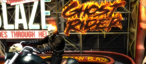 Marvel Pinball Ghost Rider full table screenshots