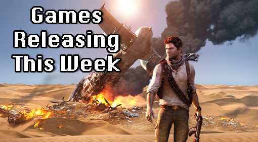 New Games Out This Week:Unhcarted 3 for PS3