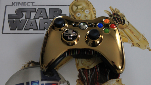 C3PO controller in the Star Wars bundle review
