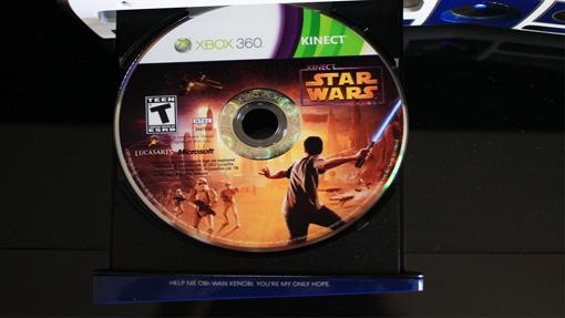 Star Wars Xbox 360 bundle disc tray