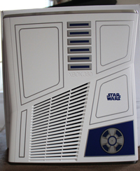Side of the Star Wars Xbox 360 bundle system