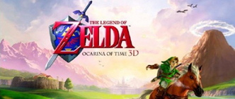 Zelda Ocarina of Time 3DS logo