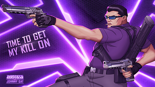 Saints Row's Gat has escaped Hell to tear up Agents of Mayhem