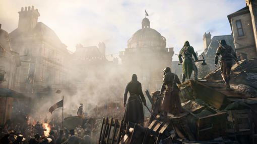 Assassins creed unity spin to win prizes