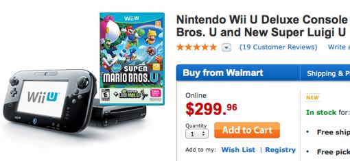 Walmart Wii U Games : Wii u walmart bundle for black friday includes two mario