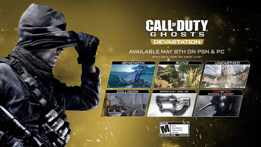Call Of Duty Ghosts Devastation Dlc Hits Playstation And Pc May 8