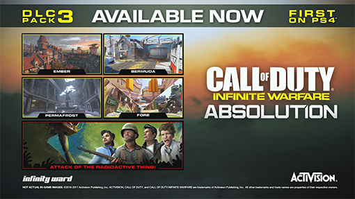 Call of Duty: Infinite Warfare new Absolution DLC released for PS4