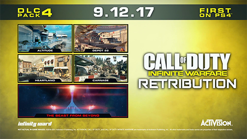 Call Of Duty: Infinite Warfare's Retribution DLC Revealed, Releases Next Week