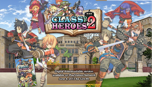 Class of Heroes 2 coming to PSP and PS Vita