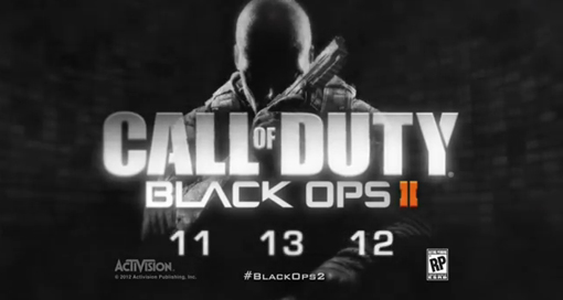 CoD Black Ops 2 sales on its release date