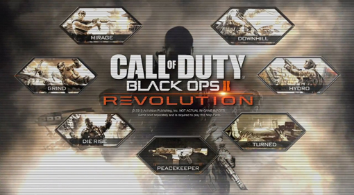 CoD Black Ops 2 Revolution PS3 map pack DLC release date today