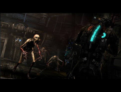 Dead Space 3 enemies