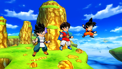 Bandai Namco Announces Dragon Ball Fusions for Nintendo 3DS