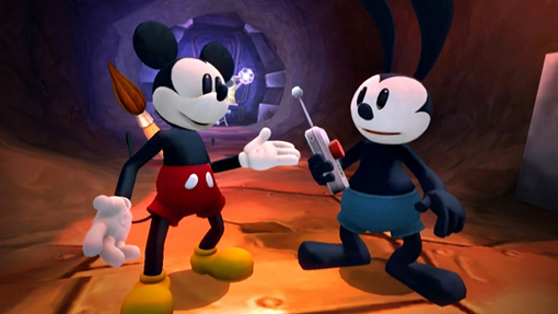 Epic Mickey 2 story and trailer