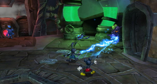 Epic Mickey 2 two-player mode