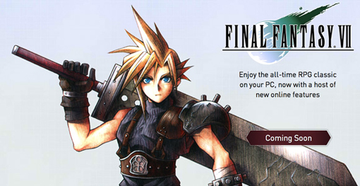 Final Fantasy 7 PC re-release download