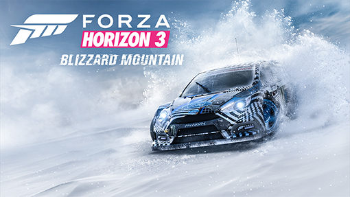 Forza Horizon 3's Blizzard Mountain expansion is now out