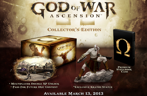 God of War Ascension collector's edition unboxing