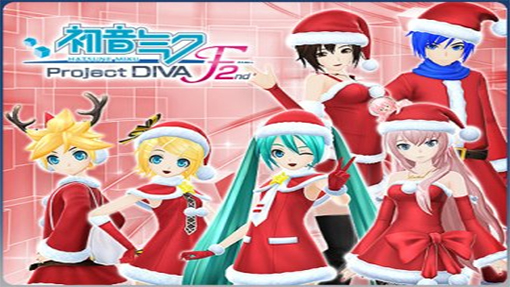 Hatsune Miku Christmas Outfit.Hatsune Miku Project Diva F 2nd Gets New Downloadable