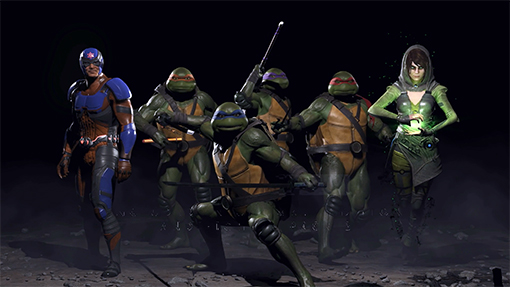 Cowabunga! The Teenage Mutant Ninja Turtles Are Coming to Injustice 2