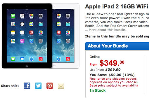 ceb3b8e93 iPad deals at Walmart puts Apple tablet on sale for  349  Updated