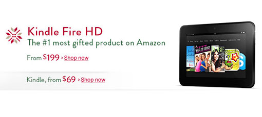 Kindle Fire HD, Black Ops 2 Amazon Cyber Monday deals