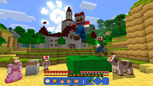 The Switch gets Minecraft's Bedrock upgrade next month