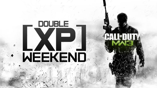 CoD MW3 Double XP Weekend July