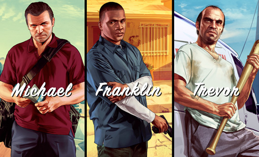 GTA 5 trailers 3, 4, and 5