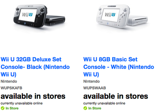 Nintendo Wii U on sale at Target