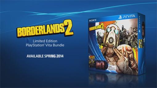 PlayStation Vita Slim Borderlands 2 Bundle is now