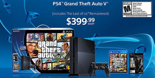Walmart's best PS4 bundle GTA 5 Cyber Monday deal 2014