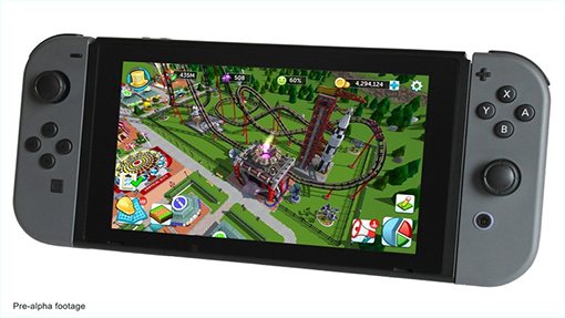RollerCoaster Tycoon Seeks Crowdfunding for Switch Version