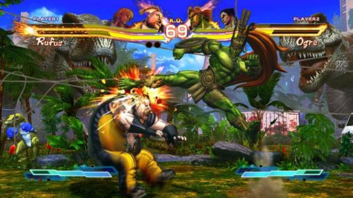 Street Fighter X Tekken characters