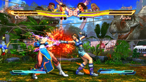 Street Fighter X Tekken girls