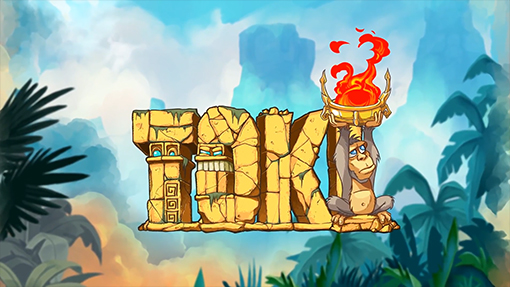 Toki Logo Is Making His Comeback On The Nintendo Switch Later This Year Remake Of Arcade Classic Has Been Completely Redrawn And Re Orchestrated By