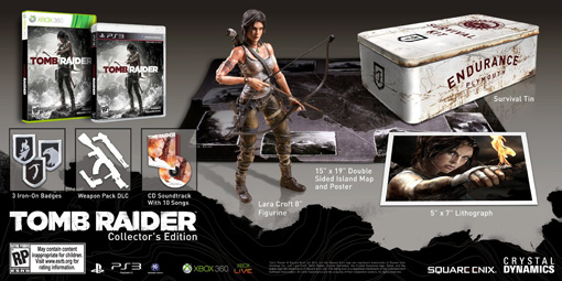 Tomb Raider Collector's Edition for PS3 and Xbox 360
