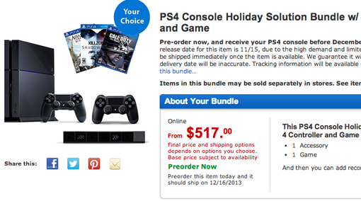 Where to buy PS4 now