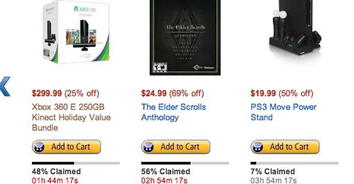 Xbox 360 250GB Kinect bundle deal on Amazon