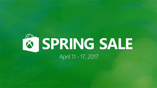 Get ready for the Xbox Store Spring sale, starting on April 11