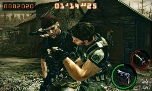 Resident Evil 3DS co-op