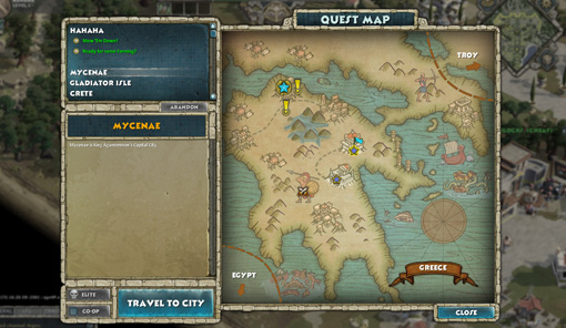 Age of Empires Online map