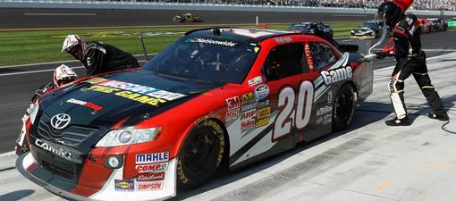 NASCAR 2011 pit stop