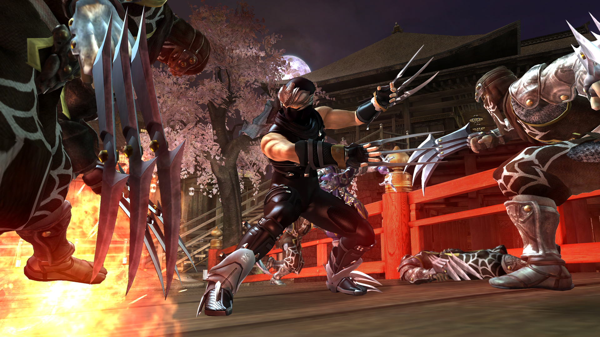 New High Res Ninja Gaiden 2 Screenshots Gaming Target